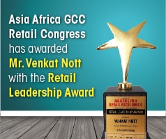 Venkat Nott, Vinculum Group Awarded Retail Leadership Award at Asia Retail Congress, Mumbai
